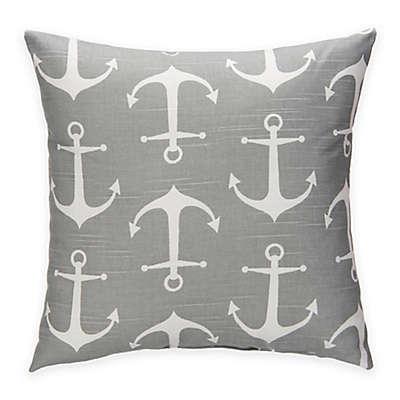 Glenna Jean Fish Tales Anchor Throw Pillow