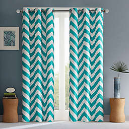 Intelligent Design Libra Grommet Top Window Curtain Panel Pair and Valance