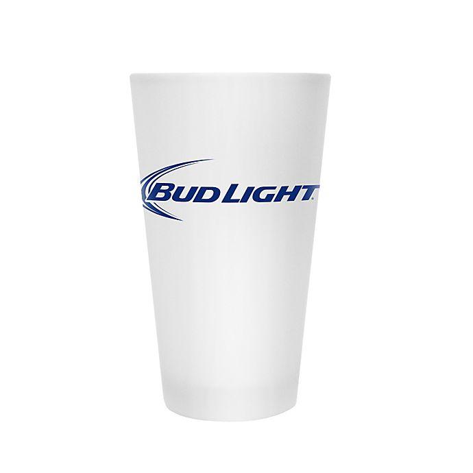 Alternate image 1 for Bud Light Frosted Pint Glasses (Set of 2)