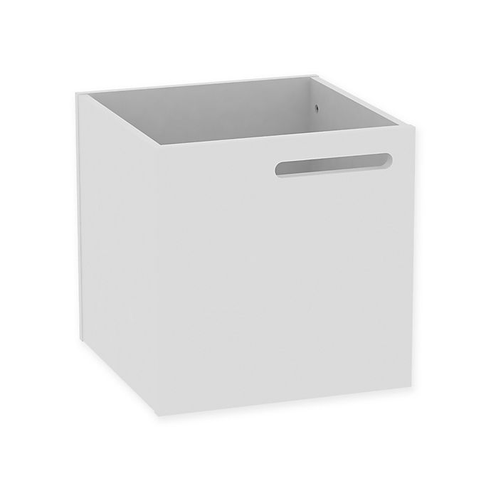 Alternate image 1 for Tema Berlin Wall Mount Storage Box in White