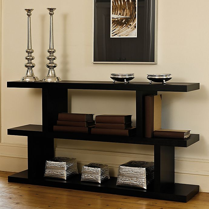Alternate image 1 for Tema Step Low Shelving Unit Bookcase