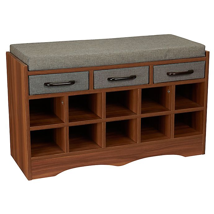 Surprising Household Essentials Entryway Shoe Storage Bench Bed Bath Uwap Interior Chair Design Uwaporg