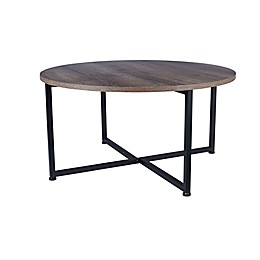 Household Essentials® Ashwood Round Coffee Table