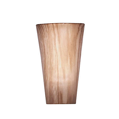Vivid Cherry Pecan High Gloss Wall Sconce in Cherry