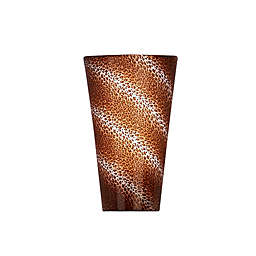 Vivid High Gloss Wall Sconce in Leopard