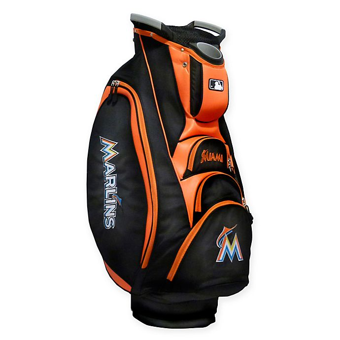 Alternate image 1 for MLB® Miami Marlins Victory Golf Cart Bag