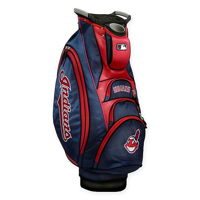 Alternate image 1 for MLB® Cleveland Indians Victory Golf Cart Bag
