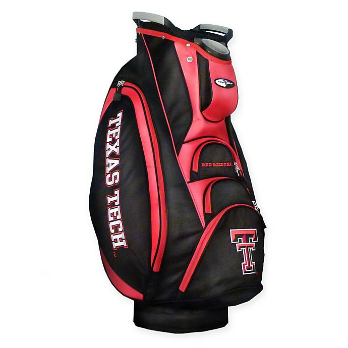 Alternate image 1 for NCAA Texas Tech University Victory Golf Cart Bag