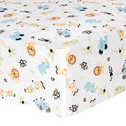 Trend Lab® Flannel Fitted Crib Sheets