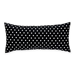 Glenna Jean Pippin Rectangular Black and White Dot Bolster