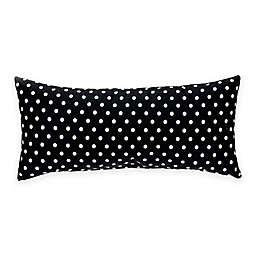 Glenna Jean Pippin Rectangular Black and White Dot Bolster