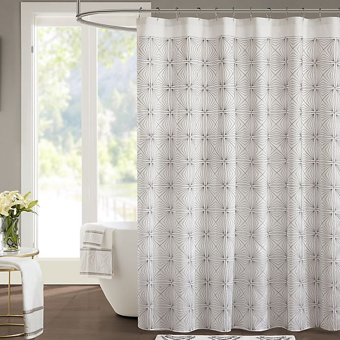 Shower Curtains At Bed Bath And Beyond jla coty shower curtain | bed bath & beyond