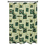Bacova™ Discover the Wild Shower Curtain