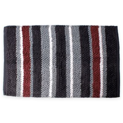 Evan Stripe Bath Rug Bed Bath Amp Beyond