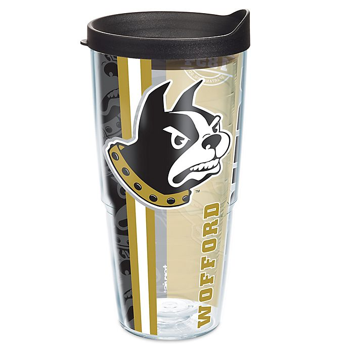 Alternate image 1 for Tervis® Wofford College Terriers 24 oz. Pride Wrap with Lid