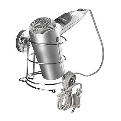 Wenko Milazzo Vacuum-Loc Hair Dryer Holder in Chrome