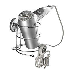 Wenko Milazzo Vacuum-Loc Hair Dryer Holder in Chrome