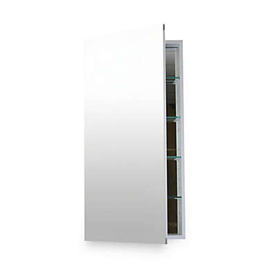 Flawless 24-Inch x 40-Inch Medicine Cabinet in Silver