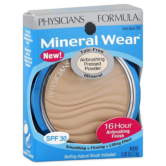 Alternate image 1 for Physicians Formula Mineral Wear Talc-Free Mineral Airbrush Pressed Powder SPF 30 in Creamy Natural