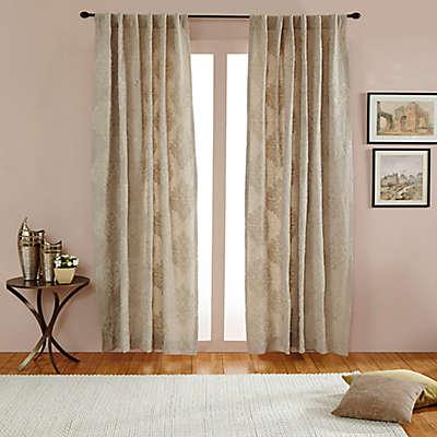 India's Heritage Empress Rod Pocket/Back Tab Window Curtain Panel