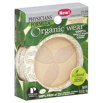 Physician's Formula Organic Wear Pressed Powder in Translucent Medium