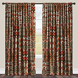 Laural Home Country Mood Room-Darkening Rod Pocket Window Curtain Panel