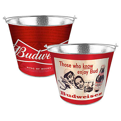 Budweiser 5 Qt. Metal Bucket Collection