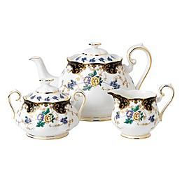 Royal Albert 100 Years 1910 Duchess 3-Piece Tea Set