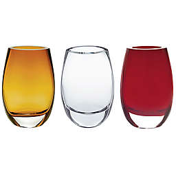 Badash Crescendo 7.5-Inch Oval Vase