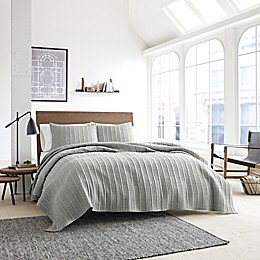 Kenneth Cole Granite Coverlet in Neutral