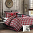 Part of the Woolrich Williamsport  Comforter Set in Red/Grey