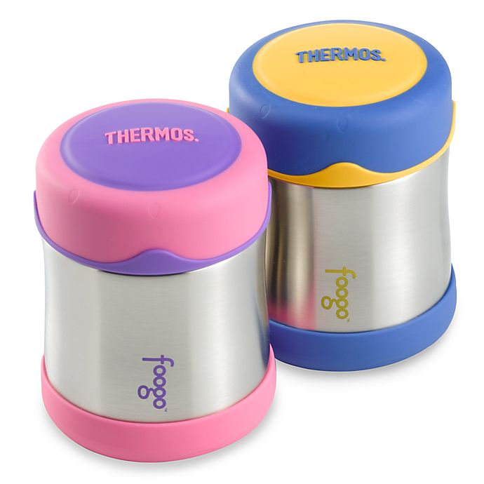 Alternate image 1 for Thermos® Foogo® 10-Ounce Leak-Proof Food Jar