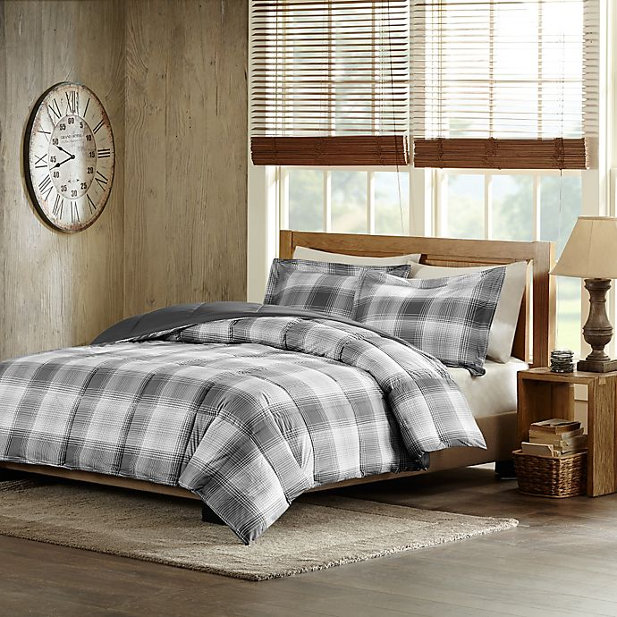 Alternate image 1 for Woolrich Woodsman Full/Queen Comforter Set in Grey