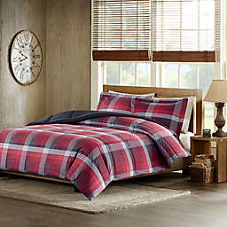 Woolrich Terrytown Comforter Set in Red
