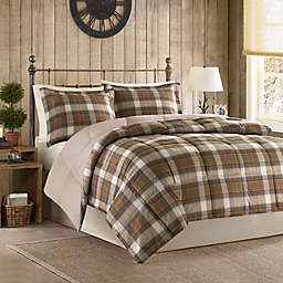 Woolrich Lumberjack Comforter Set in Brown