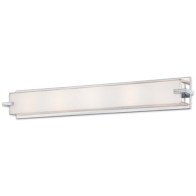 Cubism Bath Bar By George Kovacs: George Kovacs® Cubism 5-Light Wall Sconce With Chrome Finish