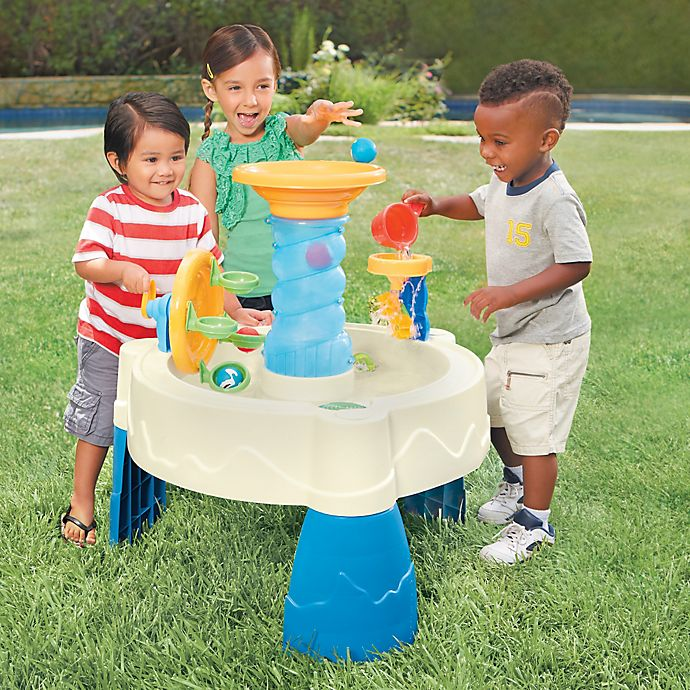 Alternate image 1 for Little Tikes® Spiralin' Seas Waterpark Water Table