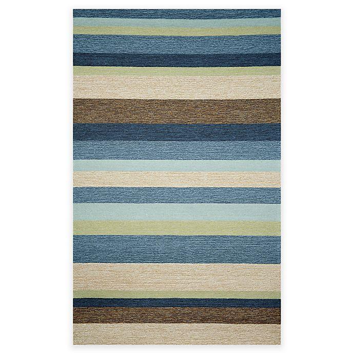 Trans Ocean Stripe Indoor Outdoor Rug