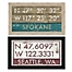 Part of the Washington Coordinates Framed Giclée Wall Art Collection