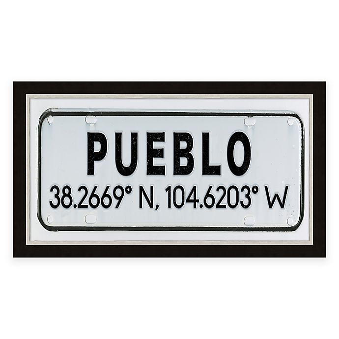 Alternate image 1 for Pueblo Colorado Coordinates Framed Wall Art