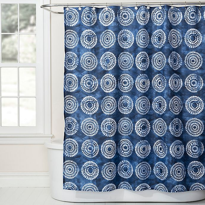 Alternate image 1 for Saturday Knight Waterfall Shower Curtain