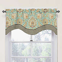 Waverly Clifton Hall Scalloped Cotton Valance in Opal
