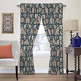 Waverly Clifton Hall Rod Pocket Window Curtain Panel and Valance
