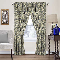 Waverly Clifton Hall 63-Inch Rod Pocket Window Panel in Flax