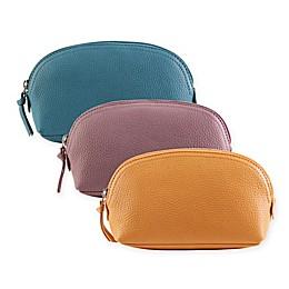 Hadaki Leather Cosmetic Pouch