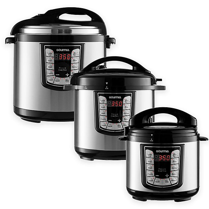 Alternate image 1 for Gourmia® Smart Pot Multifunction Programmable Pressure Cooker