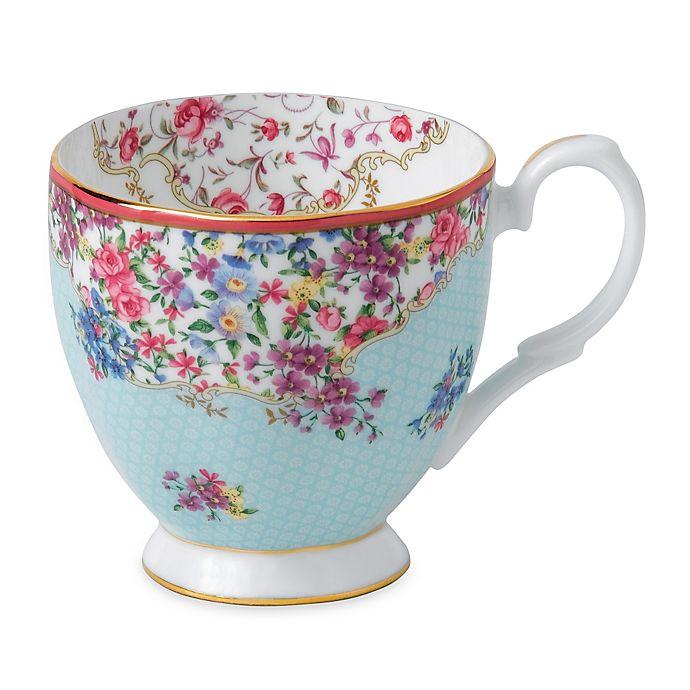 Alternate image 1 for Royal Albert Candy Sitting Pretty Vintage Mug
