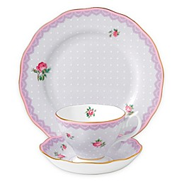 Royal Albert Candy Love Lilac 3-Piece Place Setting
