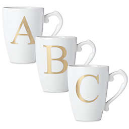 Lenox® Initially Mine Monogrammed Mug in Gold