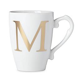 Lenox® Initially Mine Monogrammed Mug in Gold